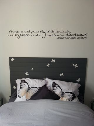 Stickers muraux chambre adulte - Decoration murale chambre adulte ...