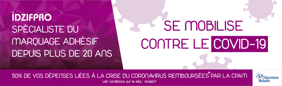 Site internet dédié à la signalétique préventive contre le Covid 19