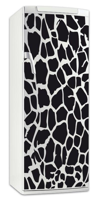 sticker frigo girafe. Black Bedroom Furniture Sets. Home Design Ideas