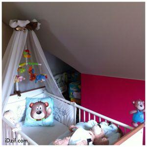 déco chambre bébé avec oursons