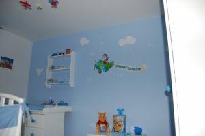 Un sticker personnalisable pour le déco de chambre de votre bébé.