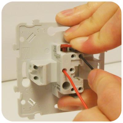installation fil noir interrupteur