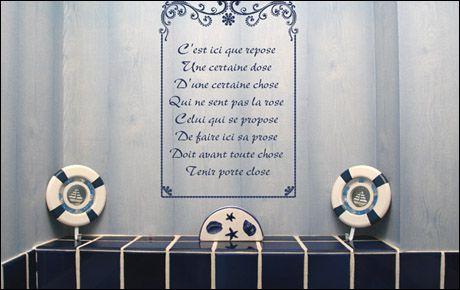 D coration rigolote pour wc - Decorer ses toilettes de facon originale ...
