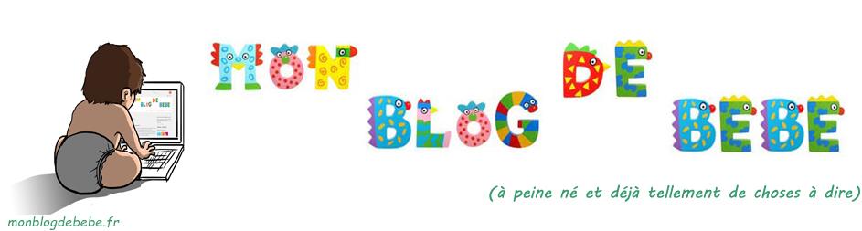 stickers mon blog de bébé