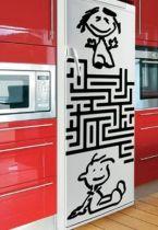 Stckers frigo : Labyrinthe.