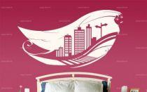 "Sticker \\\""City on Air\\\""."