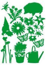 "Sticker \""Set du jardin\""."