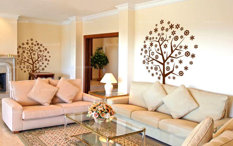 sticker arbre d coratif. Black Bedroom Furniture Sets. Home Design Ideas