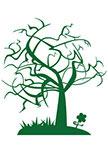 Sticker arbre du tonnerre