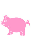 sticker cochon