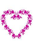 Sticker coeur. La déclaration
