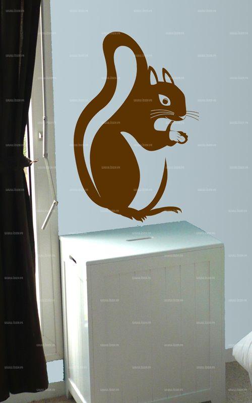 Sticker écureuil.
