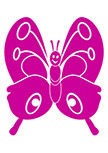 Sticker enfant papillon