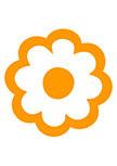 Sticker fleur : FIORELLI