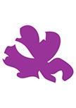 Sticker fleur asiatique