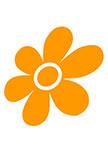 sticker fleur BELLEZZA