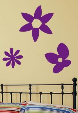 Sticker fleurs marguerites