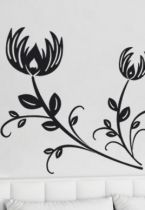 Sticker fleurs.