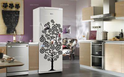 sticker frigidaire arbre g n alogique. Black Bedroom Furniture Sets. Home Design Ideas
