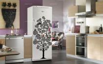 Sticker frigidaire : Arbre généalogique. Décoration de frigidaire réalisée sur mesure en vinyle adhésif, à vous de choisir la couleur qui s\'accordera le mieux à votre intérieur de cuisine. Sticker idéal pour rendre son frigo unique mais pourquoi pas vous en servir pour décorer la salle à manger ou le couloir.