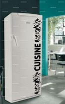 Sticker frigo cuisine.