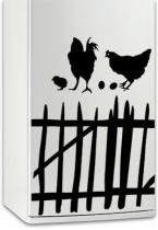 Sticker frigo La poule du frigidaire