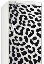 Sticker frigo léopard.
