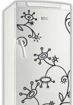 Sticker frigo spirales.
