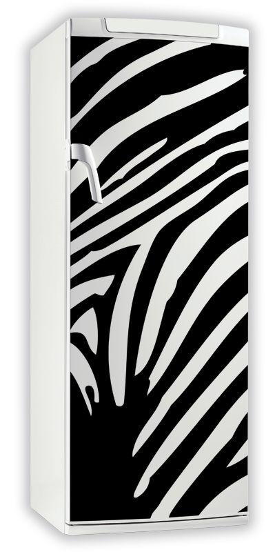 sticker frigo z br. Black Bedroom Furniture Sets. Home Design Ideas