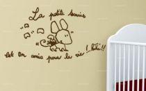 Sticker la petite souris.