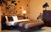 Sticker tête de léopard découpés à la forme dans vinyle de couleur unie. Vous voulez réveiller le côté sauvage en vous? ce visuel est fait pour vous.