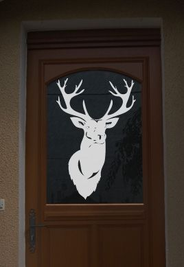 Sticker noël le renne