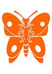 Sticker papillon. FLYPI