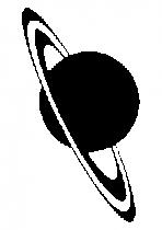 Sticker planete saturne