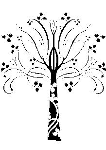 Sticker plante envoûtante.