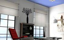 Sticker plante découpée à la forme dans vinyle de couleur unie. Idéal pour habiller et décorer vos murs.