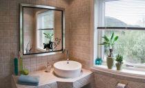 Sticker poisson découpés à la forme dans vinyle de couleur unie . Planche comprenant 1 sticker Poisson et 4 stickers Bulles pour une décoration simple et efficace d\'un miroir de salle de bain par exemple.