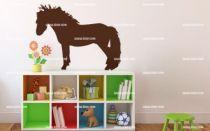 sticker poney