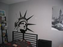 stickers statue de la liberté en vente sur iDzif.com
