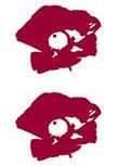 Stickers 2 coquelicots