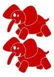 Stickers 2 éléphanto