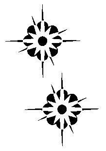 Stickers 2 Etoilefleurs