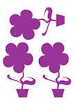 Stickers 3 fleurapots