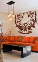 stickers mural tigre