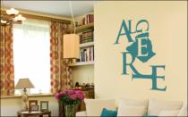 Le stickers Algérie pour la déco d\'intérieur
