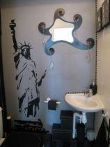 Stickers Statue de la liberté, décorez vos pièces avec ces stickers de style américains en vente sur Idzif.com