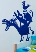 Stickers âne et compagnie