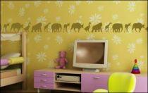 Le stickers animaux frise pour décorer l\'intérieur