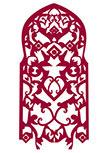 Stickers arabesque