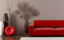 Le stickers arbre palmier pour décorer l\'intérieur sur le thème de la nature